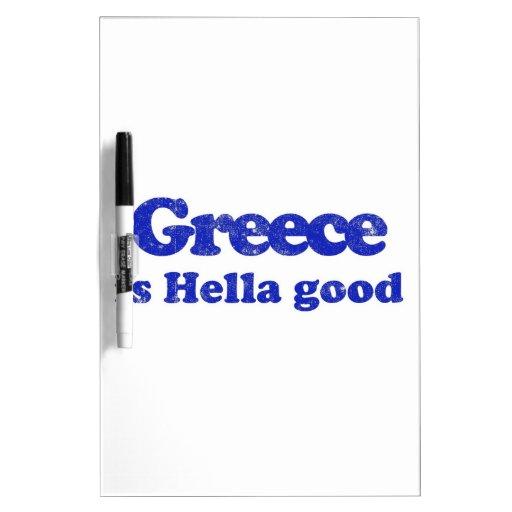 Grecia es Hella bueno Pizarra