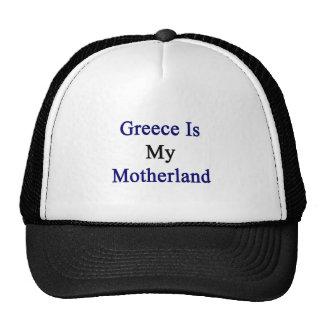 Grecia es mi patria gorros bordados