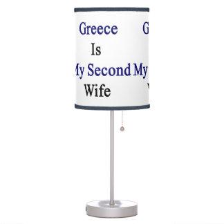 Grecia es mi segunda esposa