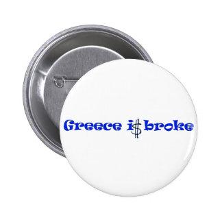 Grecia es se rompió pin