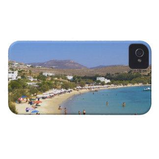 Grecia, isla de Paros, playa de Krios desde arriba iPhone 4 Carcasa