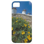 Grecia, islas de Cícladas, Mykonos, florece cerca iPhone 5 Cárcasas