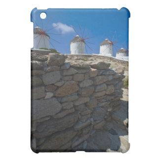 Grecia islas de Cícladas Mykonos pared de piedr