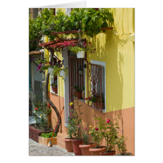GRECIA, islas del Egeo del noreste, LESVOS Tarjeta De Felicitación