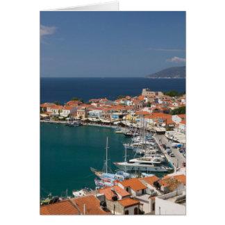 GRECIA, islas del Egeo del noreste, SAMOS, 3 Tarjeta De Felicitación