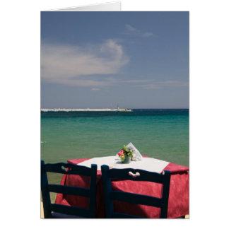GRECIA, islas del Egeo del noreste, SAMOS, 4 Tarjeta De Felicitación