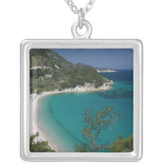 GRECIA, islas del Egeo del noreste, SAMOS, 7 Colgante Cuadrado