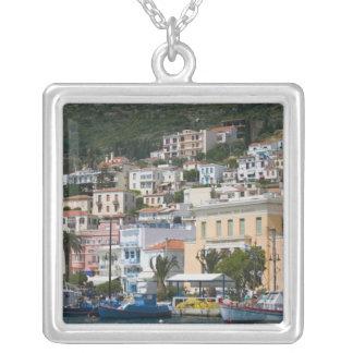 GRECIA, islas del Egeo del noreste, SAMOS, Colgante Cuadrado