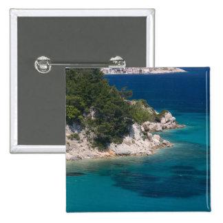 GRECIA, islas del Egeo del noreste, SAMOS, Pin Cuadrado