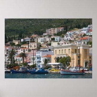 GRECIA, islas del Egeo del noreste, SAMOS, Póster
