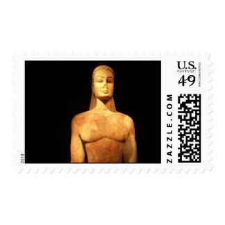 Grecia Kouros del franqueo sagrado de la puerta Sellos Postales