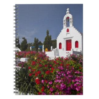 Grecia, Mykonos, pequeña capilla linda en Note Book