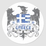 Grecia se fue volando al pegatina