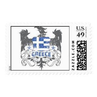 Grecia se fue volando el sello