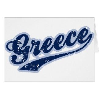 Grecia Tarjeta De Felicitación