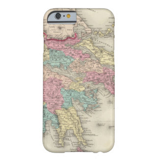 Grecia y la república jónica funda de iPhone 6 barely there