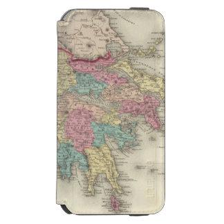Grecia y la república jónica funda cartera para iPhone 6 watson