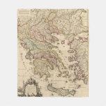 Grecia y Macedonia Manta De Forro Polar