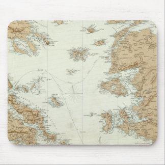 Grecia y Turquía Alfombrillas De Ratón