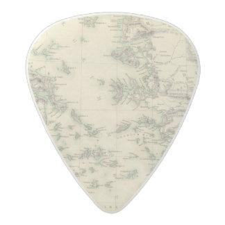 Grecian Archipelago, ancient Acetal Guitar Pick