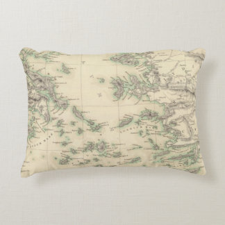 Grecian Archipelago, ancient Accent Pillow