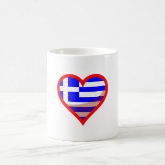 Grecian love coffee mug