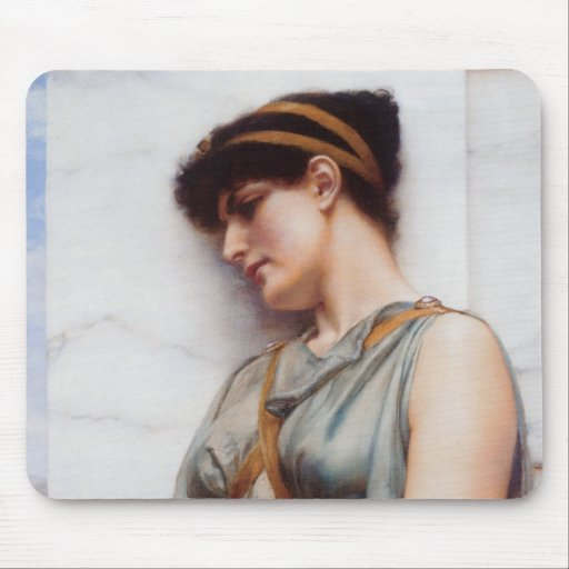 Grecian Reverie Mouse Pad
