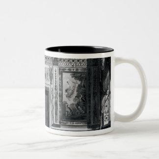Grecian salon, from 'Architectural Two-Tone Coffee Mug