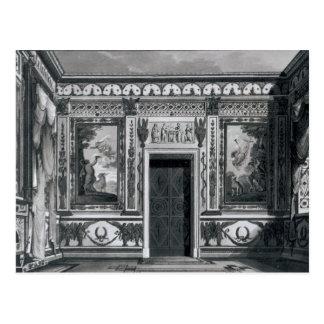 Grecian salon, from 'Architectural Postcard