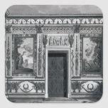Grecian salon, from 'Architectural Square Sticker