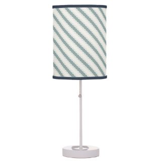 Grecian Spiral Waves Desk Lamp