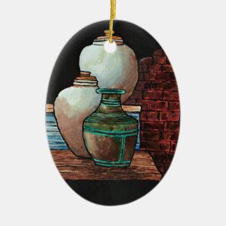 Grecian Urns. Ceramic Ornament