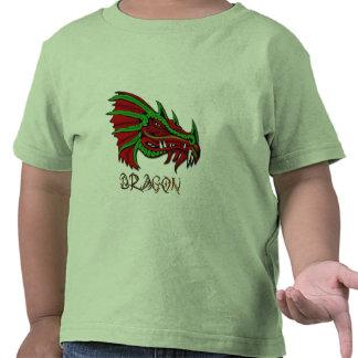 Grecken el arte místico de la fantasía del dragón camiseta