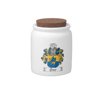 Greco Family Crest Candy Dish