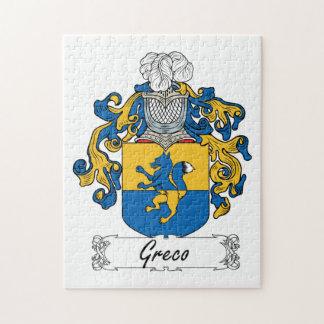 Greco Family Crest Puzzle