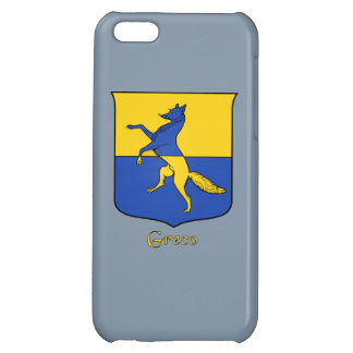 Greco Italian Surname Historical Shield iPhone 5C Covers