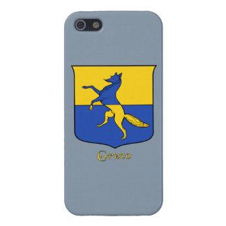 Greco Italian Surname Historical Shield iPhone SE/5/5s Cover