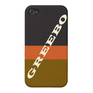 """""""Greebo"""" Covers For iPhone 4"""