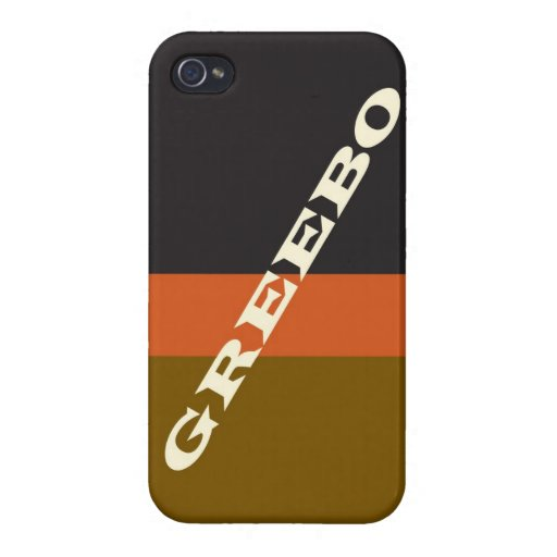 """Greebo "" iPhone 4/4S Funda"
