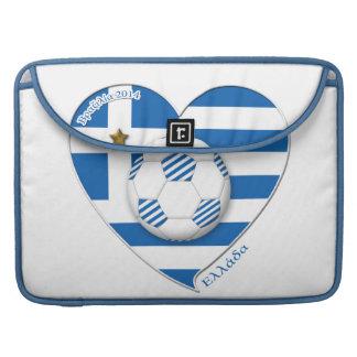 "Greece ""ΕΛΛΆΔΑ"" Soccer Team. Fútbol Grecia 2014 Funda Macbook Pro"