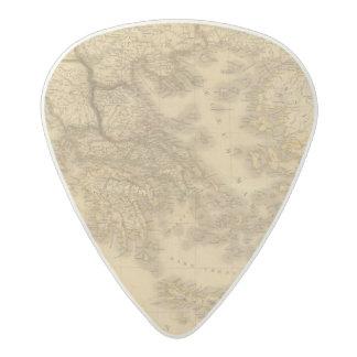 Greece 13 acetal guitar pick
