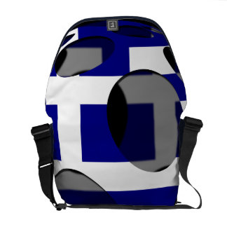 Greece #1 messenger bag