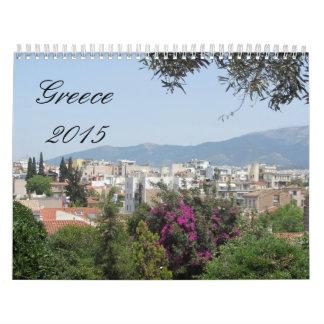 Greece 2015 calendar