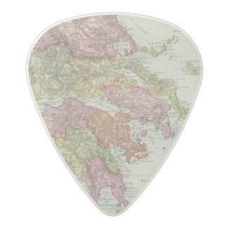 Greece 4 acetal guitar pick