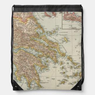 Greece 4 drawstring backpack
