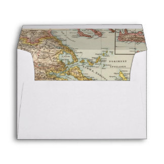 Greece 4 envelope