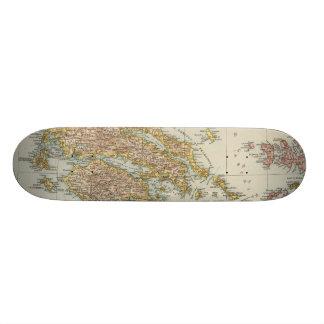Greece 4 skateboard deck