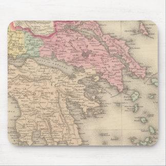 Greece 5 mouse pad