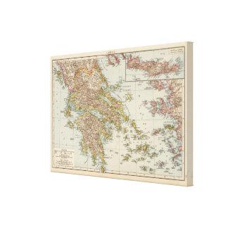 Greece 9 canvas print