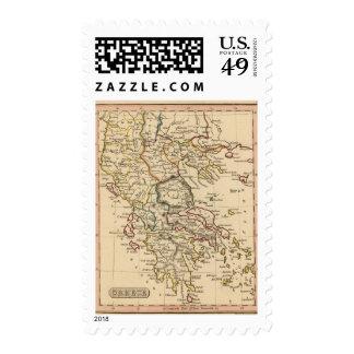 Greece 9 postage stamp